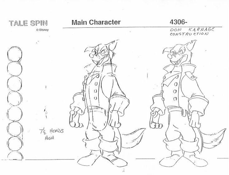 Model Sheet é algo importante para as definições de um personagem - nolte express k chen