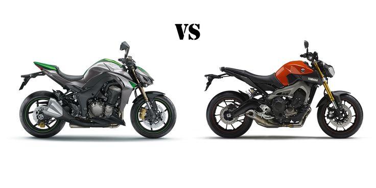 2015 Kawasaki Z-1000 vs 2014 Yamaha FZ-09 (MT-09) Showdown