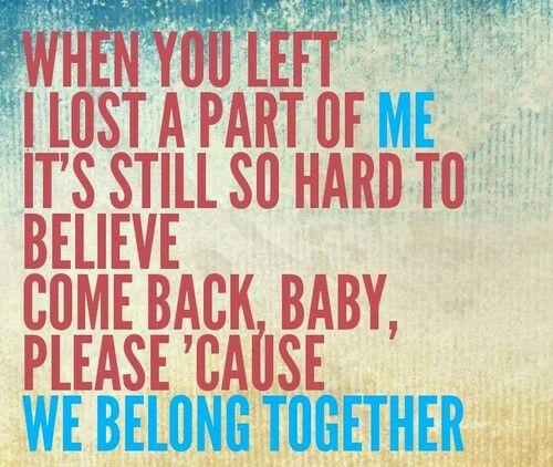 Mariah carey we belong together