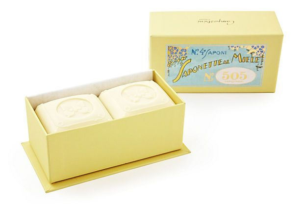 A set of luxurious soaps using ancient Tuscan soap-making recipes...she'll love it.