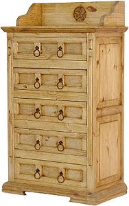 You Ll Reciate The Sy Solid Pine Construction Of This Handmade Dresser Tall