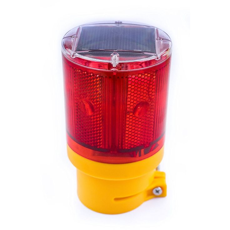 RK Safety WLIGHT-ST Solar Powered Emergency LED Strobe Lamp Lights
