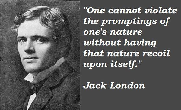 Jack London Quotes. QuotesGram