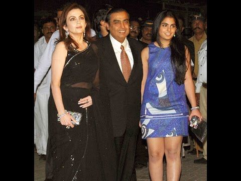 Mukesh Ambani with Family | Father,Mother ,Wife,Brother,Daughter and Son