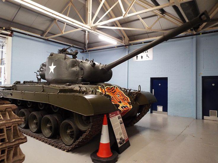 US M46 General Patton 1950-57 Tank Museum Bovington