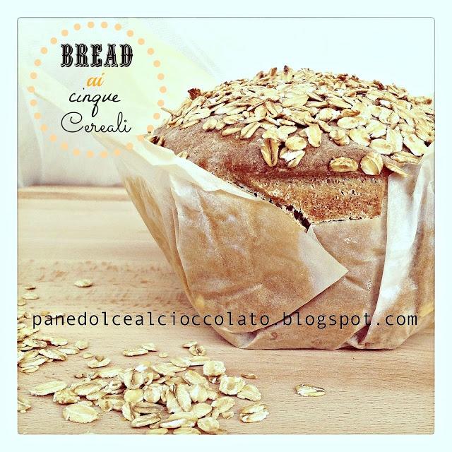 Bread ai 5 cereali a lievitazione naturale | PANEDOLCEALCIOCCOLATO