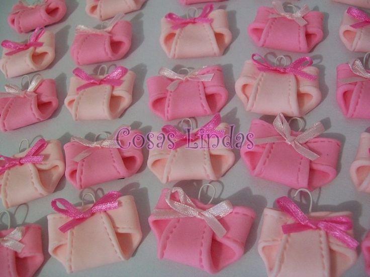 (3) Distintivos Recuerdos Para Baby Shower - $ 70.00 en MercadoLibre