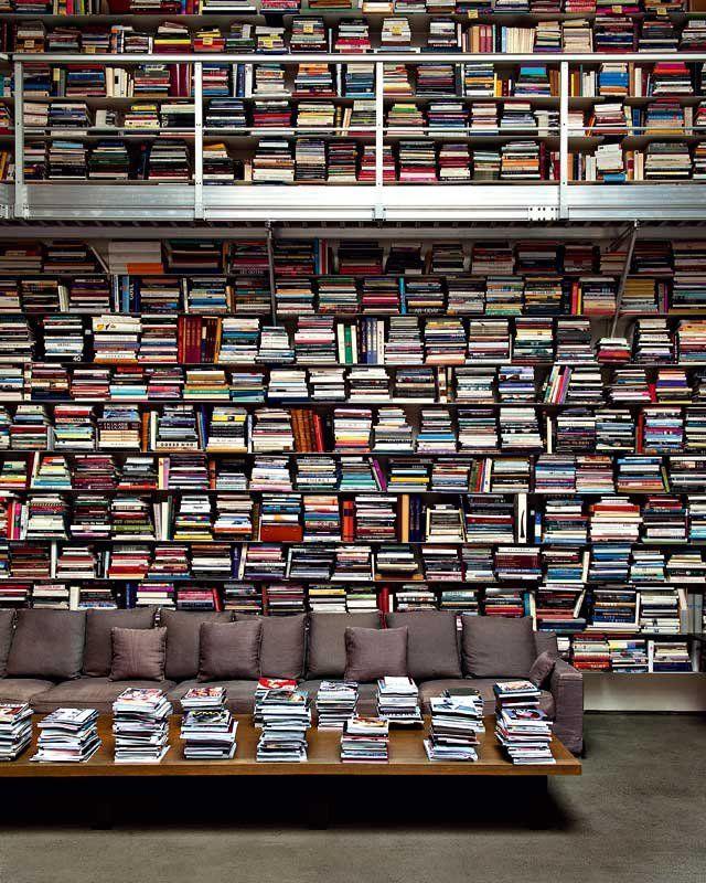 Une bibliothèque monumentale
