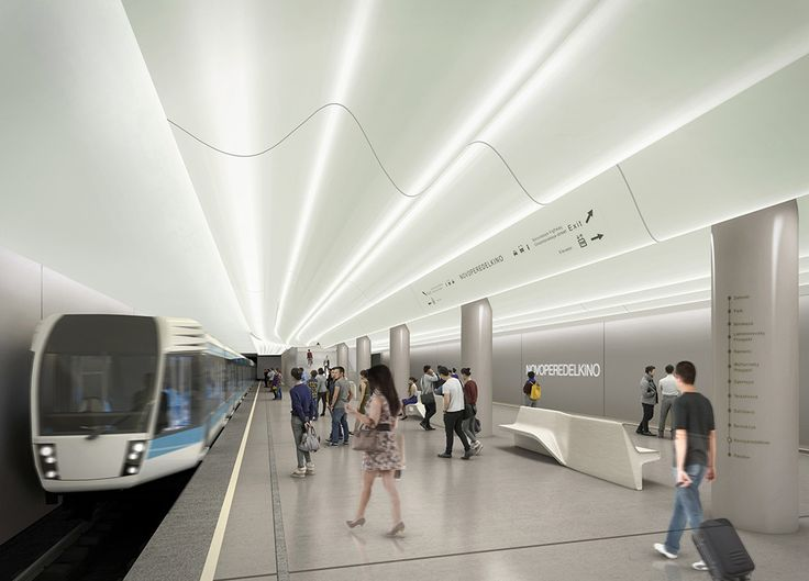 Gallery of Shortlist Announced for the Moscow Metro Station Competition - 41