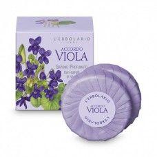 Accordo Viola illatú szappan ibolya illatú - Rendeld meg online! Parfüm és kozmetikum család az olasz Lerbolario naturkozmetikumoktól
