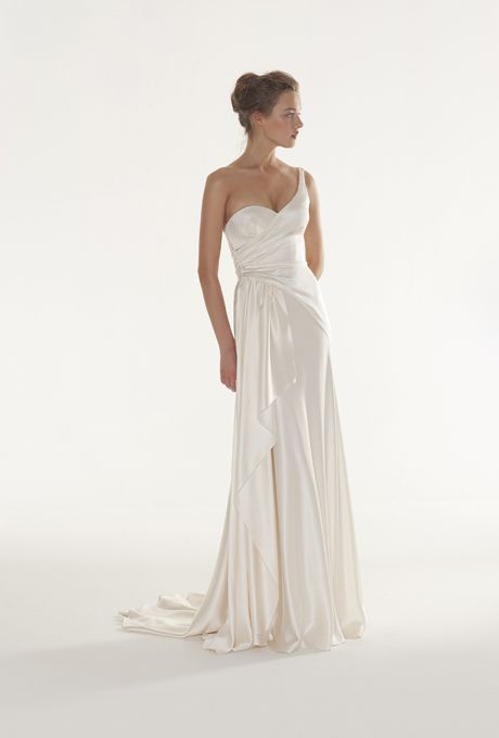 Brides.com: Peter Langner - 2013. Gown by Peter Langner  See more Peter Langner wedding dresses in our gallery.