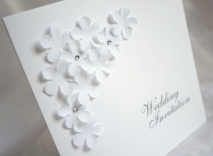 8 best Wedding cards images on Pinterest Homemade cards Card