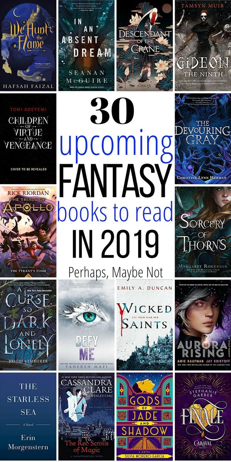 30 Exciting New Fantasy Books to Read in 2019