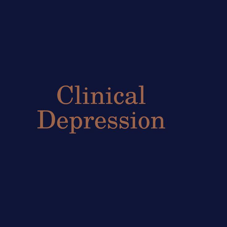 Clinical Depressiodepression n