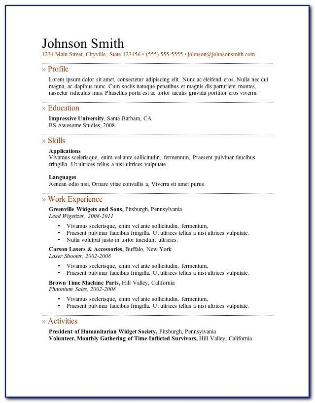 Pin By Rizky On Resume Form Teacher Resume Template Teacher Resume Template Free Chronological Resume Template