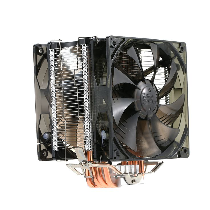 ==> [Free Shipping] Buy Best PCCOOLER 5 Heatpipes Radiator Quiet 4pin CPU Cooler Heatsink Fan Cooling with Dual 120mm LED Fans for Desktop Computer Online with LOWEST Price | 32817052910