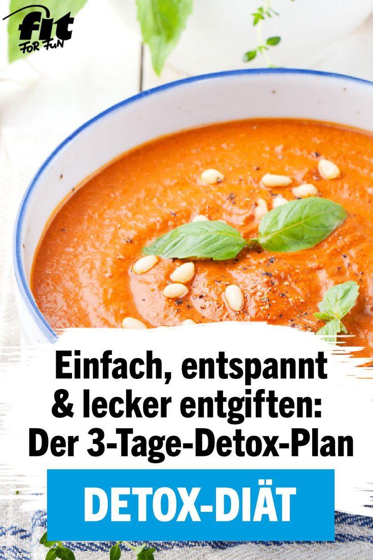 Detox-Diät: der 3-Tage-Detox-Plan
