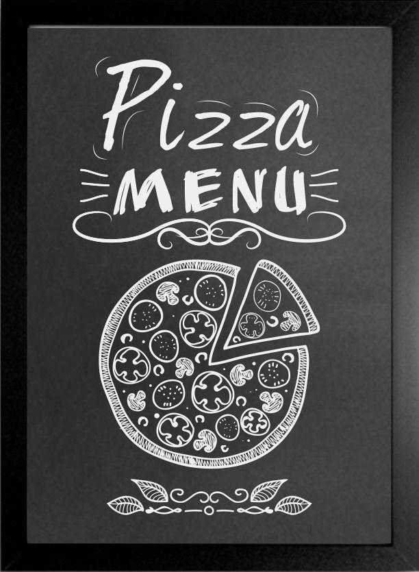 quadro negro lousa menu cozinha restaurante bares decoração
