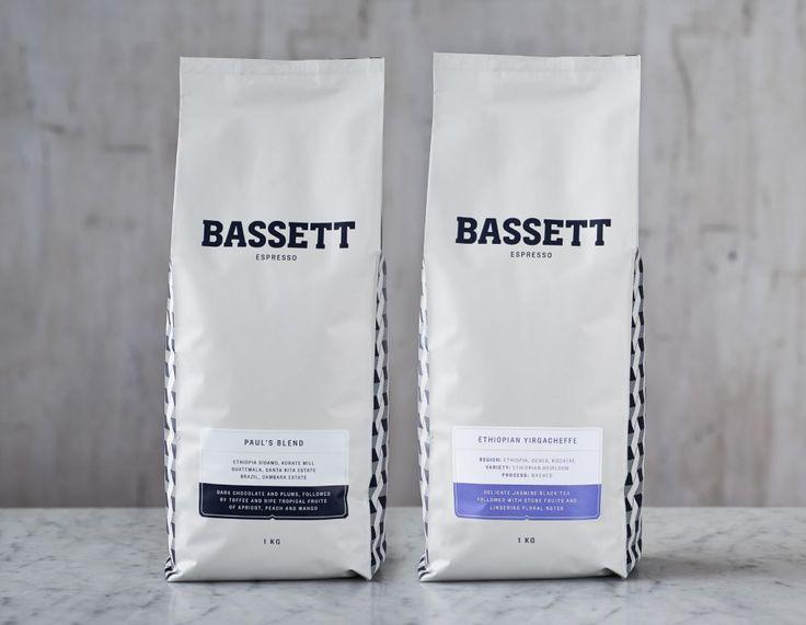 Bassett Espresso packaging