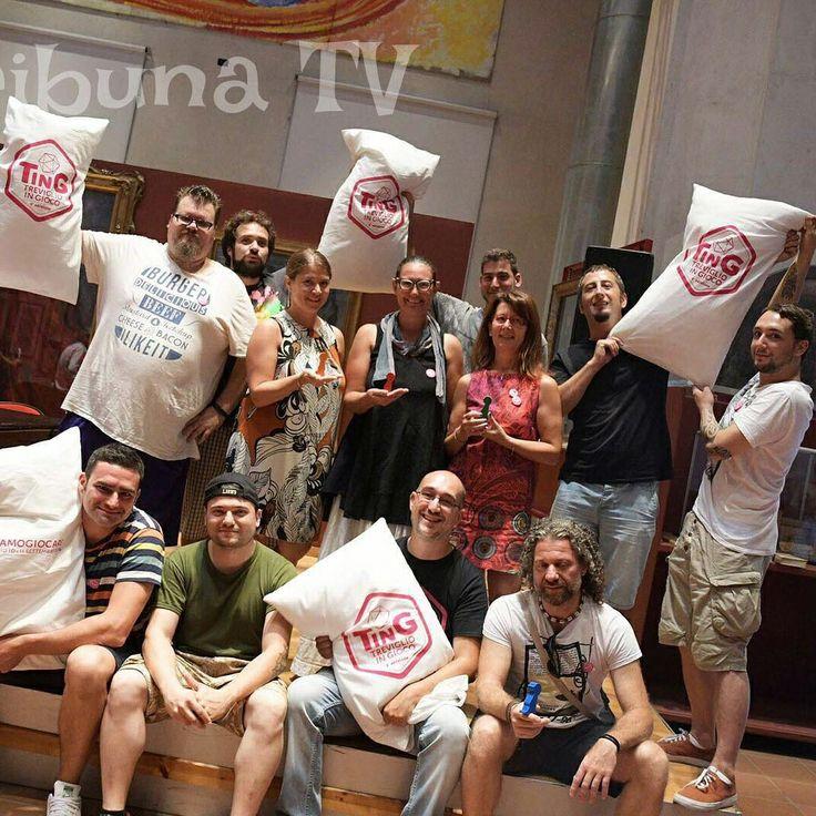 TinG LaB, 02 settembre 2016. Conferenza stampa di presentazione Treviglio in GIOCO. #tribunatv #bibliotreviglio #ting