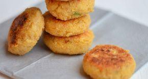 Homemade Falafel:  50 gr gedroogde kikkererwten (1 nacht geweekt), 2 tenen knoflook, snuf chilipeper, sap v. 1 citroen, 1 el bloem*, 1 tl komijn, handje peterselie, zeezout & olijfolie. Alles mengen, balletjes maken, even opstijven & bakken in koekenpan!