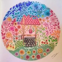 Secret Garden Wishing Well Johanna Basford