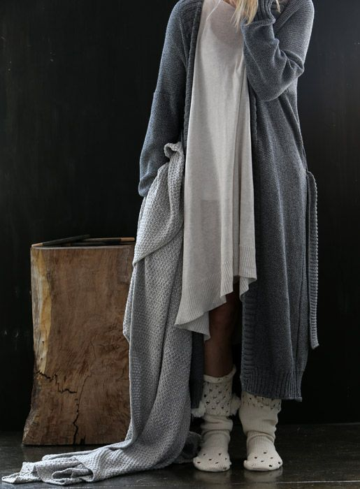 knitted loungwear - dreamy knits to live with you everday ... and night - luna lounge