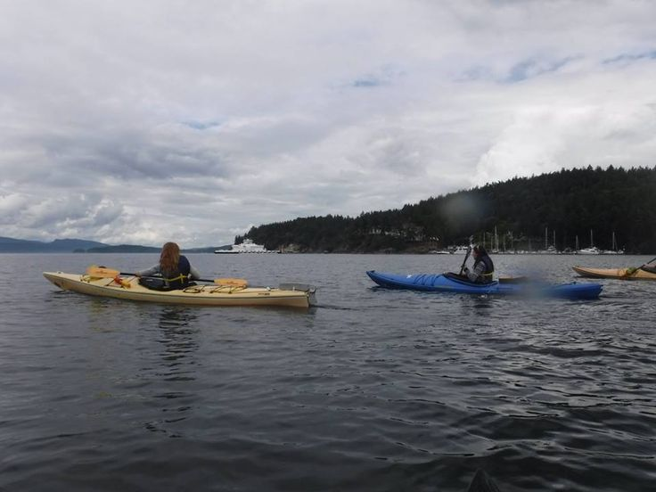 Kayaking Pender Island, BC, Canada with Dog Mermaid Eco Excursions, Kayak Rentals & Retreats located a Otter Bay Marina, just of the ferry and second location on the South Island at Poets Cove Resort.