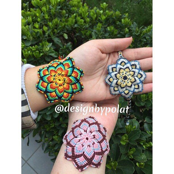 """162 Beğenme, 11 Yorum - Instagram'da designbypolat🍃👁👁🍃 (@designbypolat): """"#iyigeceler #goodnight 🌏😴🌍😘 #designbypolat #mandala #mandalas #bracelet #gypsy #bohemian…"""""""