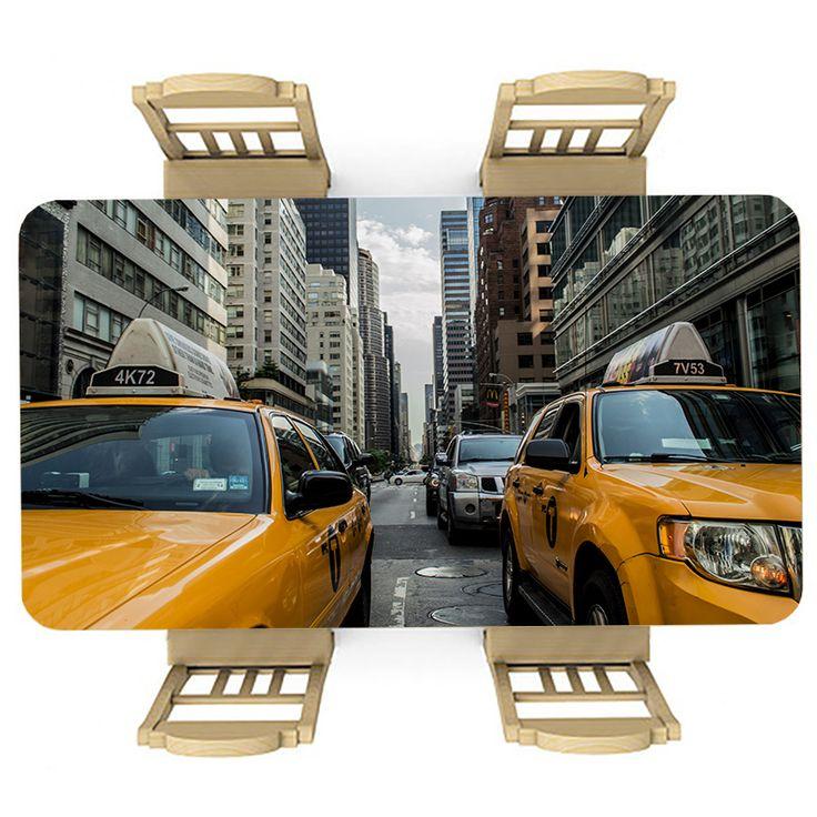 Tafelsticker Traffic jam | Maak je tafel persoonlijk met een fraaie sticker. De stickers zijn zowel mat als glanzend verkrijgbaar. Geschikt voor binnen EN buiten! #tafel #sticker #tafelsticker #uniek #persoonlijk #interieur #huisdecoratie #diy #persoonlijk #verkeer #spits #new #york #newyork #big #apple #bigapple #taxi #straatbeeld #auto