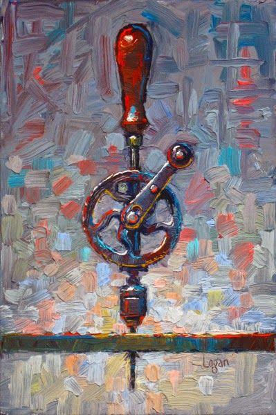 Raymond Logan's Dailies - My Ben Hur Hand Drill