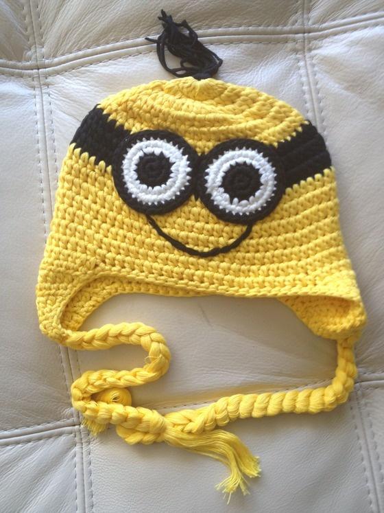 Crochet handmade by Sara Molano Artist yellow hat craft artist fun fashion $18.00
