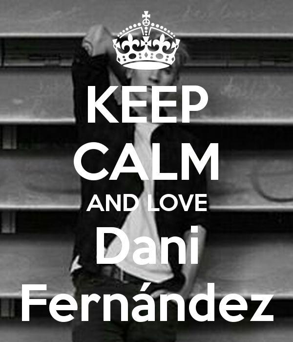 Keep calm: Dani Fernández (03)