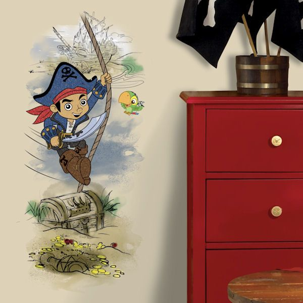Captian Jake And Neverland Pirates Scence Decal   Wall Sticker, Mural, U0026  Decal Designs At Wall Sticker Outlet
