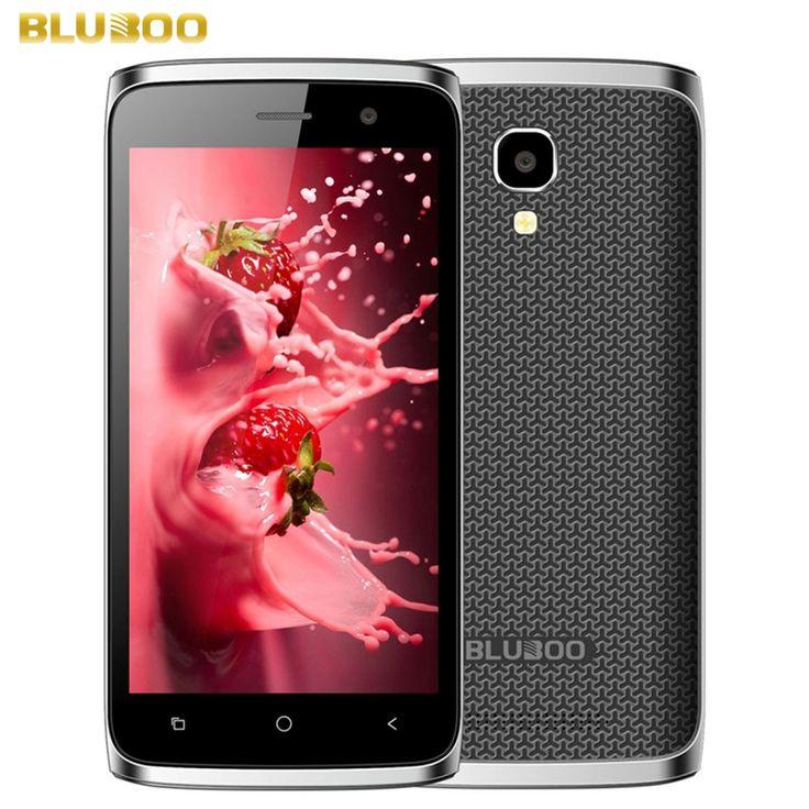 Original BLUBOO Mini ROM 8GB+RAM 1GB Network 3G 4.5 inch Android 6.0 MTK6580M Quad Core up to 1.3GHz, Smartphone GPS BT  #Affiliate