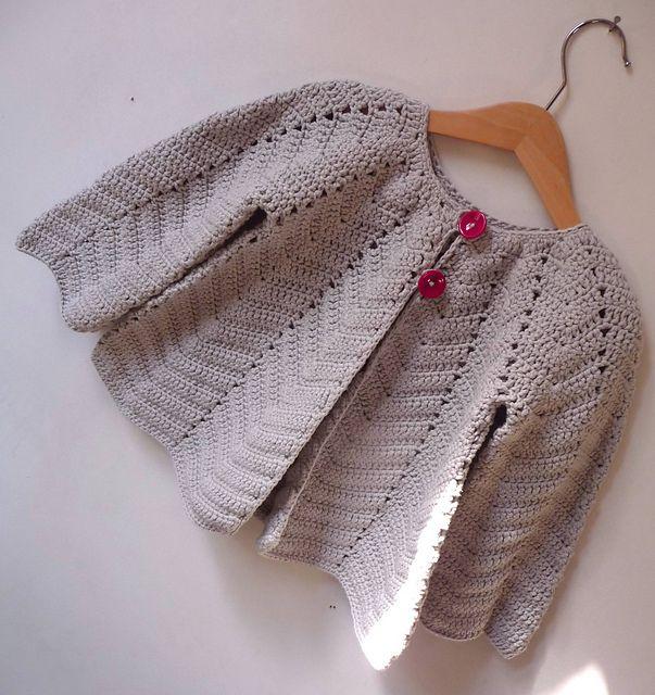 Ravelry: lapelote's Crochet princessWomens Fashion, Women Fashion, Free Pattern, Fashion Outfits, Crochet Princesses, Baby Sweaters Clothing, French Girls, Crochet Knits, Girls Cardigans