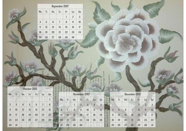 Gratis 2017 kalender