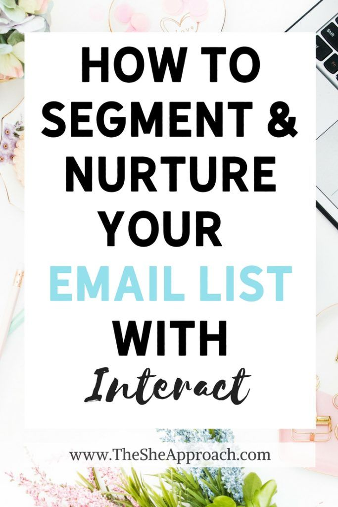 Email marketing tips for bloggers. Grow your email list. Segment and nurture your email list with interactive, online quizzes. Email marketing tutorial. #bloggingtips #emailmarketing The She Approach
