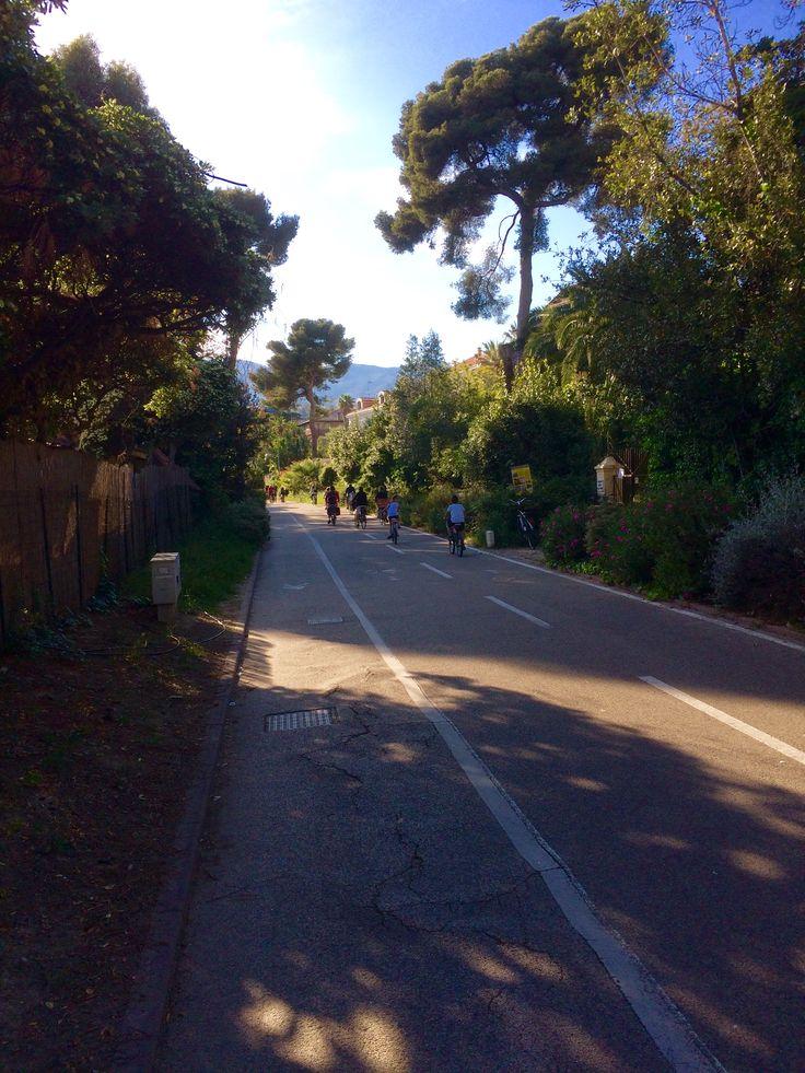 Pista Ciclabile Sanremo Italy