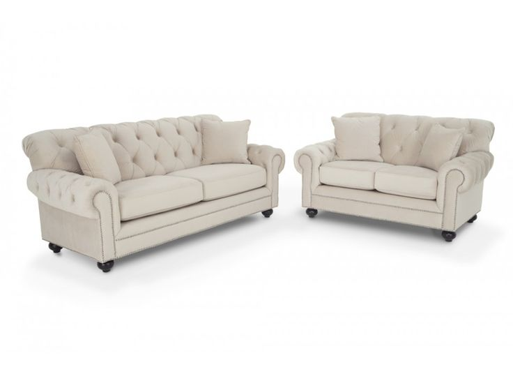 Victoria sofa loveseat living room sets living room for Bobs furniture living room sets