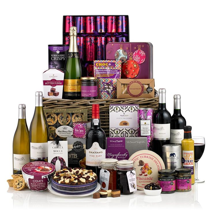 christmas hampers asda