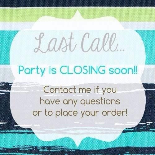 Hurry the party closes the end of April.  Check out my website: beautyandwarmth.Scentsy.us