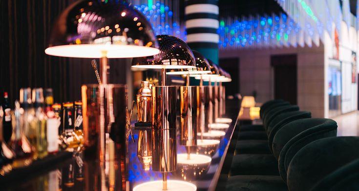 Pullman scheweizerko + Blend Restaurant- Berlim #creativemary #emotionalbrands #malabar #ottiu #porus#passionateaboutlamps #lightcompany #lightingdesign #lightingdesigner#luxurylighting #handcraftedlighting #contemporarylighting #retrolighting #modernlighting #modernsuspensionlamp #modernlighting #exoticlampu