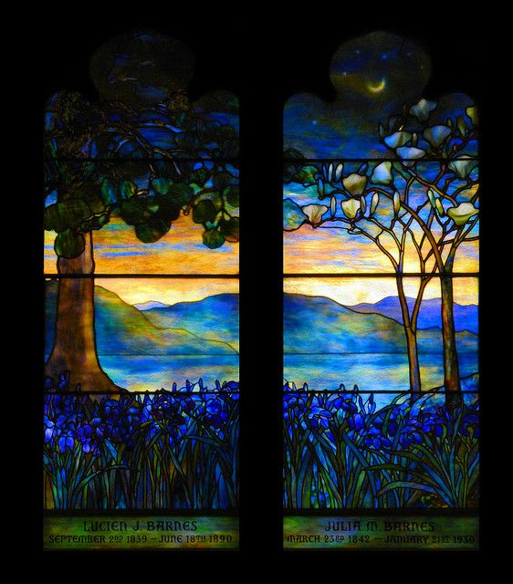 Louis Comfort Tiffany stained glass window Breathtaking beauty!