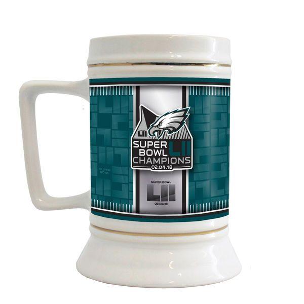 Only  24.99 Philadelphia Eagles Super Bowl LII Champions 28oz. Stein at  NFLShop.com via 347d603c65