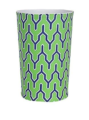 65% OFF Malabar Bay Parker Canvas Wastebasket, Green