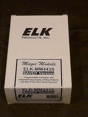 Other Home Automation: Elk Products Elk-Mm443 Magic Module Programmable Controller -> BUY IT NOW ONLY: $100.0 on eBay!