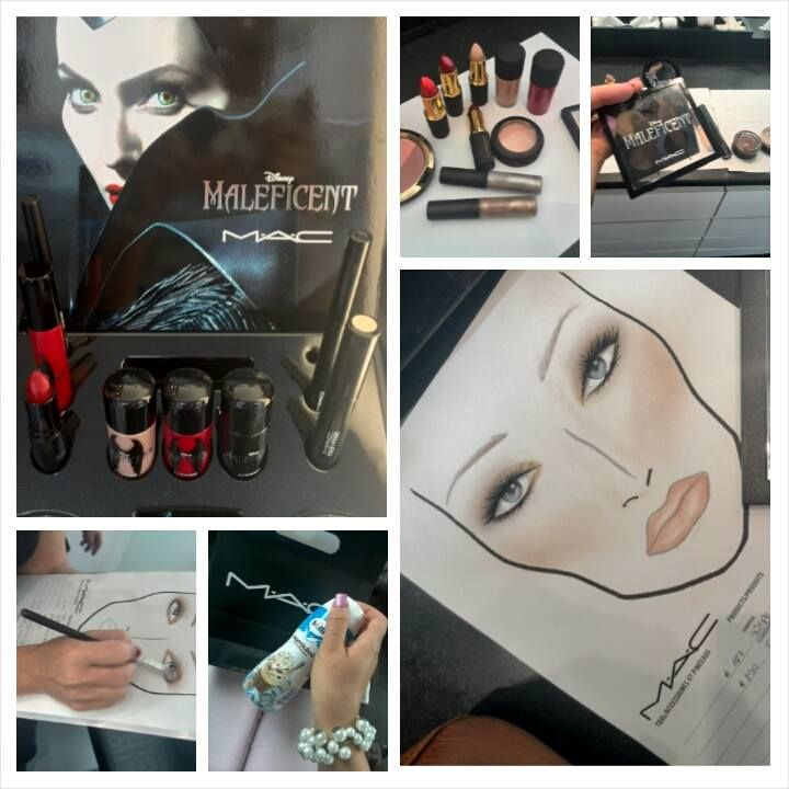 Maleficent, MAC, cosmetics