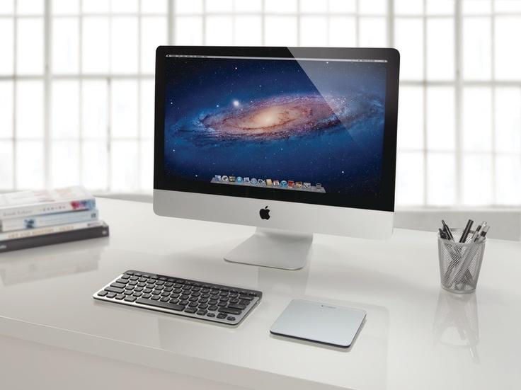 Mac Bluetooth-Tastatur und Trackpad von Logitech