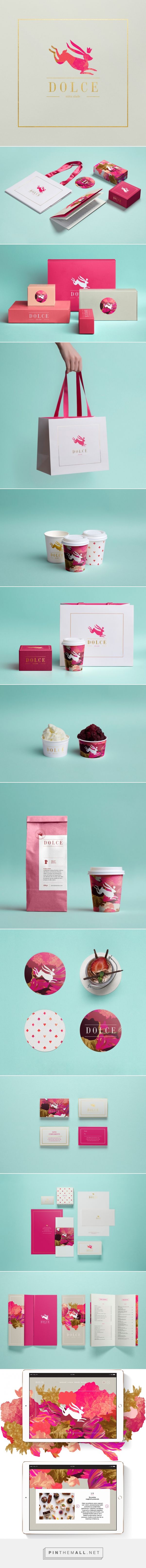 Dolce Branding by Metaklinika by Shane Wilson. Beautiful pink packaging PD